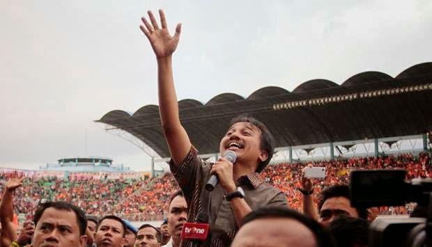 Menteri Pemuda dan Olahraga Roy Suryo. Tempo