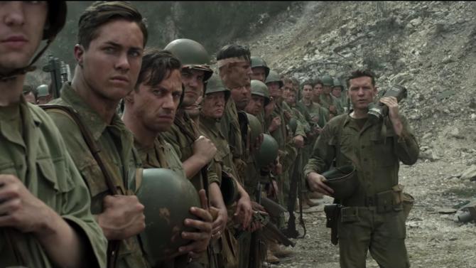 Hacksaw Ridge, directed by Mel Gibson.